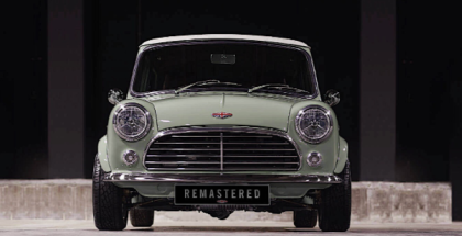 Classic Mini Remastered by David Brown Automotive
