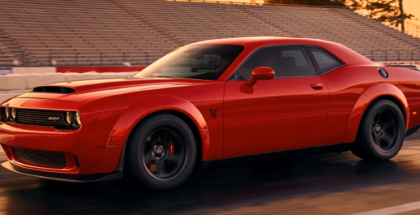 Dodge Challenger Demon First Official Photo (1)