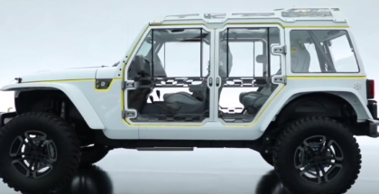 Jeep 2017 Moab Concept Vehicles