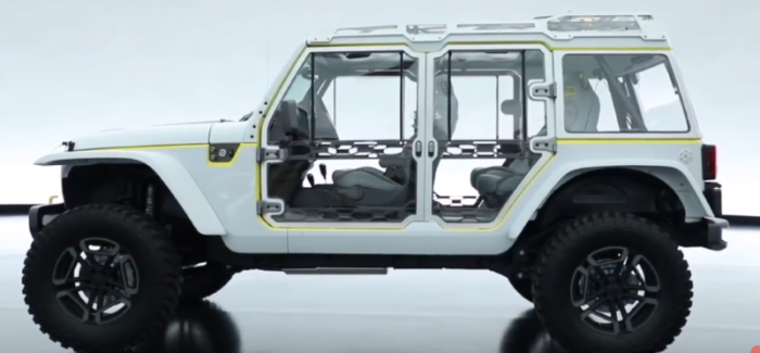 Jeep 2017 Moab Concept Vehicles Video