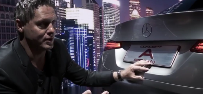 Mercedes Concept A Sedan Design Explained – Video