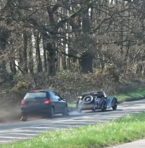 Morgan Pulls Out In Front Of Car Ends In Rear End Crash (2)