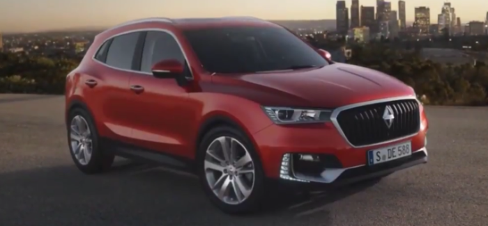 Plug-in Hybrid Borgward BX5 – Video