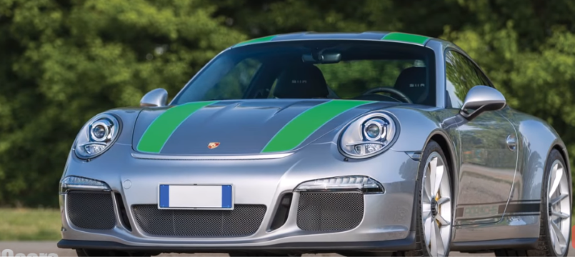 Silver With Green Stripes Porsche 911r Dpccars