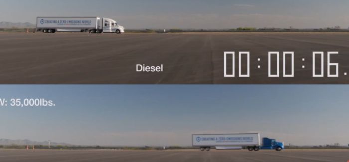 Toyota Project Portal Fuel Cell Truck – Video