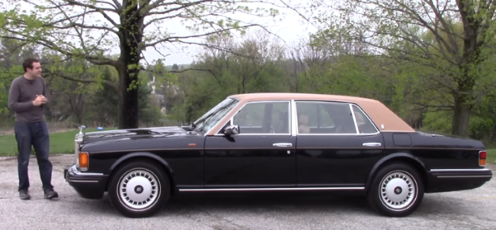 1996 Rolls-Royce Silver Spur Review – Video