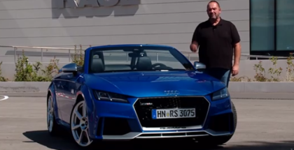 2017 Audi TT RS Coupe & Spyder Review & Factory