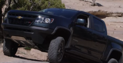 2017 Chevrolet Colorado ZR2 Extreme Off Roading
