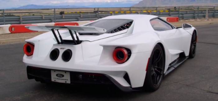 Ford Gt Track V Max Mode Video