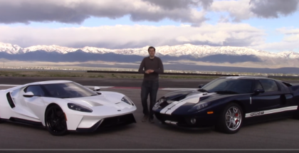 2017 Ford GT vs 2005 Ford GT Review (1)