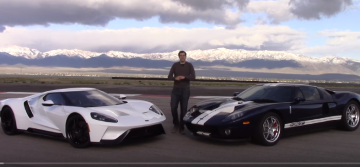 2017 Ford GT vs 2005 Ford GT Review – Video