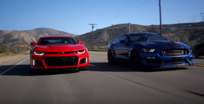 2017 Ford Mustang Shelby GT350R vs 2017 Chevy Camaro ZL1 (1)