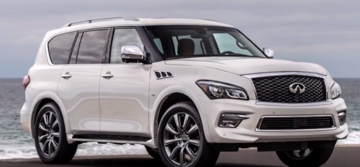 2017 infiniti qx80 signature edition video dpccars. Black Bedroom Furniture Sets. Home Design Ideas
