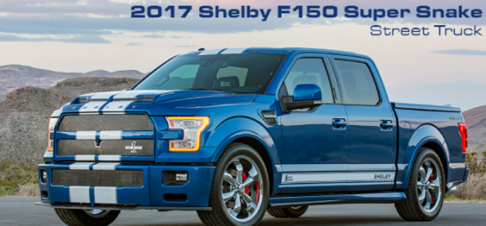 2017 Shelby Ford F 150 Super Snake With 750 Horse