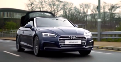 2018 Audi A5 Cabriolet Overview