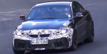 2018 BMW M2 CS Spied With Exhaust Sound