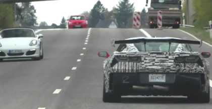 2018 Chevy Corvette ZR1 Spied On Public Road (1)