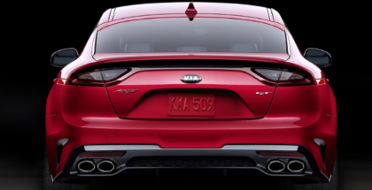 2018 Kia Stinger Exhaust Sound Spied (1)