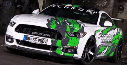 807HP Ford Mustang By Schropp Tuning