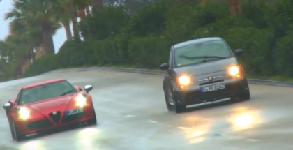 Abarth 695 Biposto vs Alfa Romeo 4C Head To Head Review