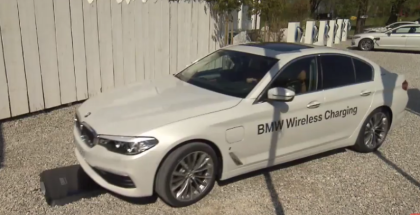 Animation - BMW Wireless Charging Explained