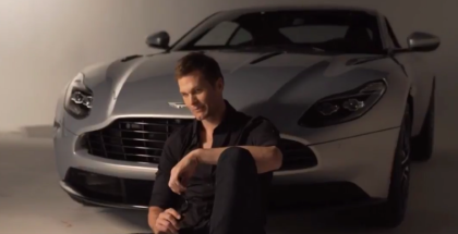 Aston Martin DB11 Teams Up With Tom Brady