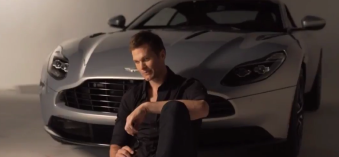 Aston Martin DB11 Teams Up With Tom Brady – Video