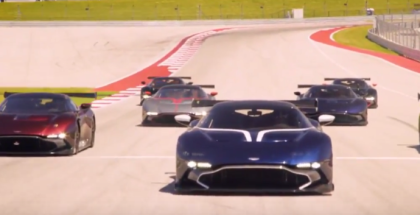Aston Martin Vulcan Owners Event