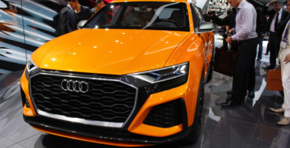 Audi Q8 Sport Concept Integrated Android Operating System