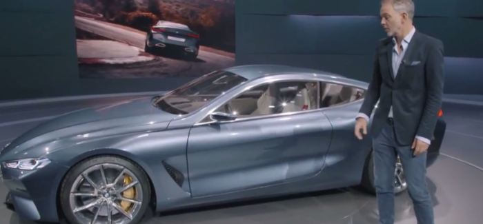 BMW 8 Series Concept Unveiling & Overview – Video