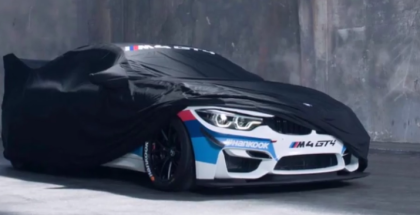 BMW M4 GT4 Teased (1)