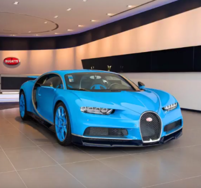Bugatti's Largest Dealership In Dubai