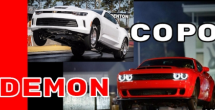 COPO Camaro vs Dodge Demon