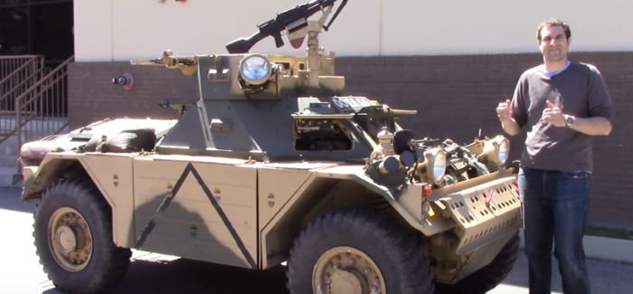 Doug DeMuro Armored Military Vehicle Review – Video