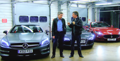 Fifth Gear Drag Race - Mercedes vs Audi vs Maserati (1)