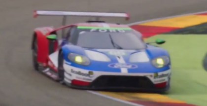 Ford GT Race Car At Motorland Aragon, Spain (1)