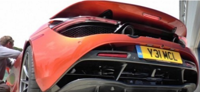 Hot Starting McLaren 720S Makes Awesome Exhaust Sound – Video