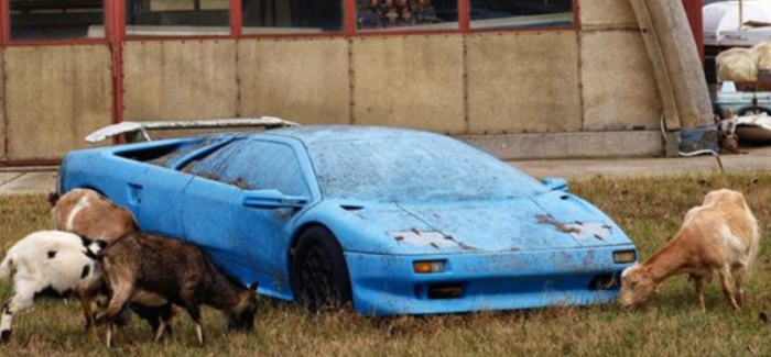 Iconic Rare Cars Abandoned Left To Rot Barn Find