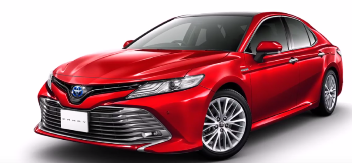 Japanese 2018 Toyota Camry TRD And Modellista Trims