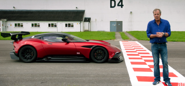 Jeremy Clarkson Reviews The Aston Martin Vulcan – Video