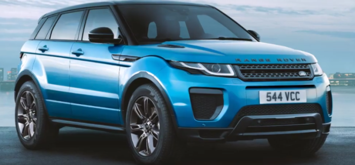 land rover evoque landmark special edition video dpccars. Black Bedroom Furniture Sets. Home Design Ideas