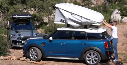 MINI Countryman AUTOHOME Roof Tent