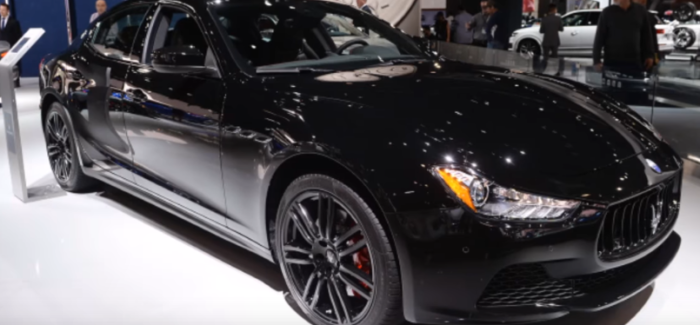 Maserati Ghibli Nerissimo Special Edition – Video