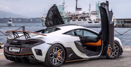 McLaren 570S PD1 Aero Kit By Prior Design