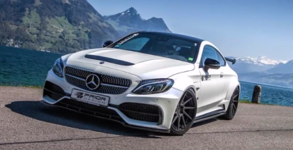 Mercedes AMG C63 Coupe By Prior Design