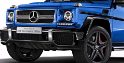 Mercedes AMG G63 Limited Edition 50th Anniversary