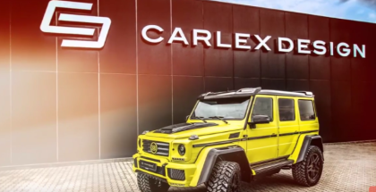 Mercedes G500 4x4² By Carlex Design & Brabus (1)