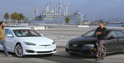 Motor Trend - 2017 Tesla Model S P100D vs 2017 Audi RS7 Performance (1)