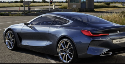 New BMW 8 Series Concept