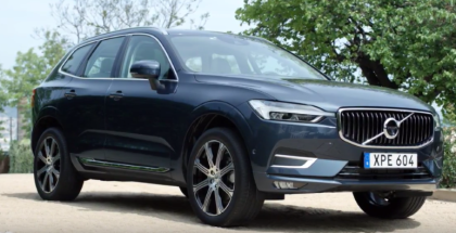 Pine Gray & Denim Blue 2018 Volvo XC60
